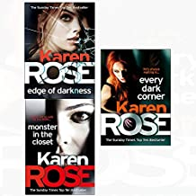 Edge of darkness and monster in the closet and every dark corner 3 books collection set