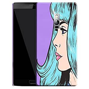 Theskinmantra Girl stares back cover for OnePlus 2