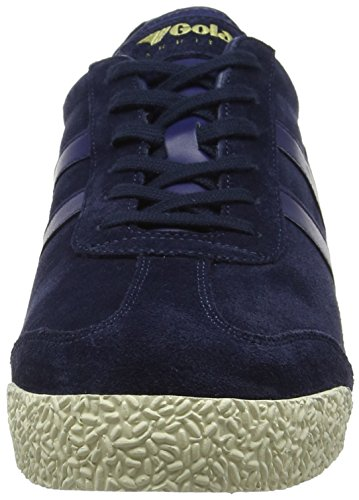 Gola Harrier Suede, Sneakers Basses Homme Bleu (Navy/navy/off White He)