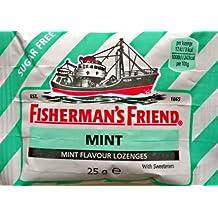 Fisherman amigo menta Sabor pastillas sin azúcar - 24 x 25 g