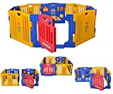 Star Ibaby Baby Play Twin Baby Park - XXL, 8 Pieces