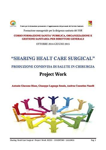 Produzione condivisa di salute in chirurgia pdf (Italian Edition ...