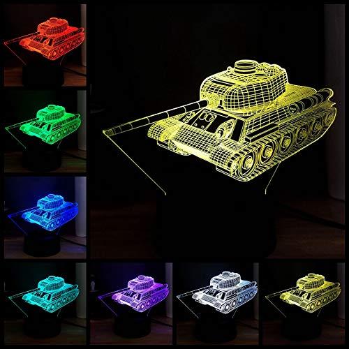 Nachtlichter Acryl 3D Transportbehälter Auto 7 Farbwechsel Illusion Rgb Led Dezember Nacht Usb Basis Tisch Stimmung Licht Kinder Geschenk Freies Verschiffen