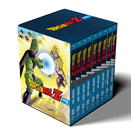 Dragon Ball Z: Seasons 1-9 Collection (Amazon Exclusive) [Blu-ray]