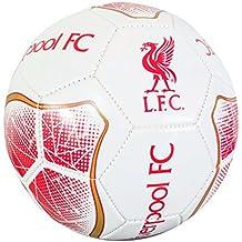 Liverpool FC Official - Balón de fútbol diseño Prisma Blanco