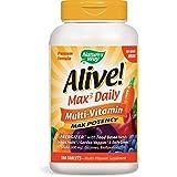 Nature's Way, Alive! Multi-Vitamine, Pas fer ajoutée, 180 comprimés