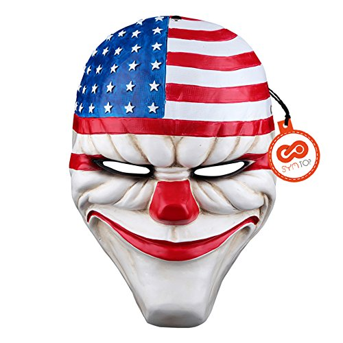 halloween-heist-dallas-mask-joker-cosplay-costume-props-mask-home-decoration
