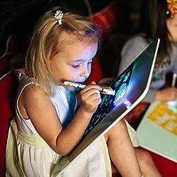 MAyouth Licht Fun Zeichnen Mit Entwicklungs Spielzeug Zeichnung Sketchpad Brett Magie Educational Zeichnen Für Kinder Kinder