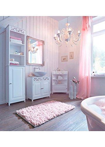 ZEARO Schließ Fächer Einfache Art und Weise Schlafzimmer, Bad Schränke weiß - 2