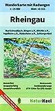 Rheingau: Wanderkarte mit Radwegen, Blatt 43-555, 1 : 25 000, Bad Schwalbach, Bingen a.R., Eltville a.R., Ingelheim a.R., Rüdesheim a.R., Schlangenbad (NaturNavi Wanderkarte mit Radwegen 1:25 000)