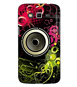 Fuson Designer Back Case Cover for Samsung Galaxy Grand I9082 :: Samsung Galaxy Grand Z I9082Z :: Samsung Galaxy Grand Duos I9080 I9082 (Speaker theme)