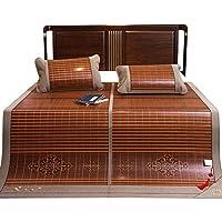 Coole Bambusmatte Bambusmatten Cool Bambus Matte Sommersaison schlafmatte Faltbare Hilf Schlaf Sommer Blätter Kühlung 0,9 m / 1,2 m / 1,35 m / 1,5 m / 1,8m / 2.0m ( 4 ft / 4,5 ft / 5 ft / 6 ft / 6.6ft) Bett ( größe : 1.5m(5feet)bed ) preisvergleich bei kinderzimmerdekopreise.eu