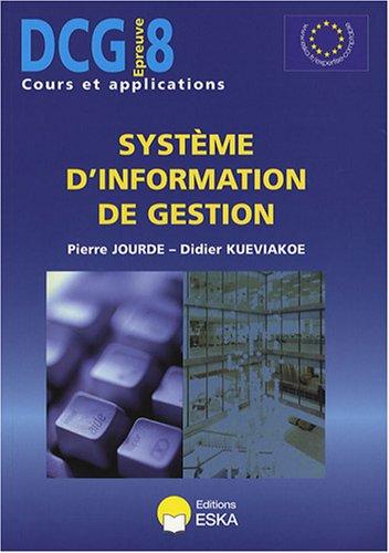 Système d'information de gestion DCG8