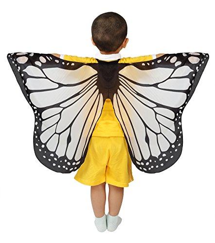 Dance Fairy Schmetterling Flügel Umhang Weiche zum Tanzen -