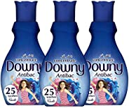 Downy Concentrate Fabric Softener, Antibac, 1L, Triple Pack