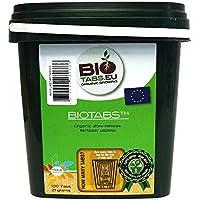 100x Tavolette di Additivo / Fertilizzante 100% Organico NPK BioTabs
