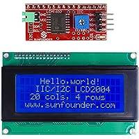 SunFounder IIC/I2C/TWI Serial 2004/20x4 LCD Display Module Shield for Arduino Uno/Mega2560