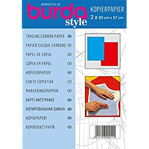 Burda Style Nähzubehör: Kopierpapier, Farbe [blau/rot], [Art.Nr.: 1100]