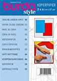 Burda style Kopierpapier blau / rot