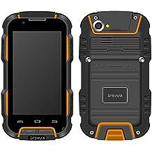 Bravus BRVV9H - Teléfono resistente (Android, MT6582V 1.3 GHz Quad Core, 1 GB de RAM)