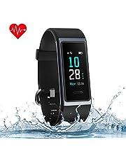 MUZILI Fitness Band Activity Tracker Heart Rate Monitor