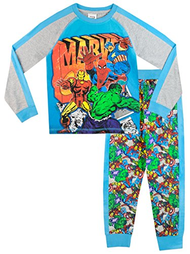 Marvel Comics Jungen Marvel Schlafanzug 116cm