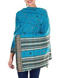 Indiennes Outfit accessoires brodés laine Châles pour le mariage Cadeaux Femmes 84x36 pouces