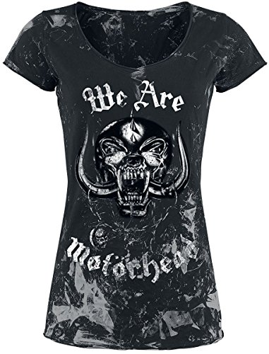 Motörhead Girl-Shirt Grau/Schwarz Grau/Schwarz