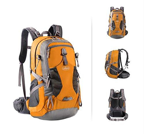 zaino trekking Outdoor Zaino Sport alpinismo Uomini borsa e Donne di corsa della spalla sacchetto impermeabile grande capacità borsa da viaggio Trekking Zaino 40L Zaini da escursionismo ( Colore : A 4 D 40L