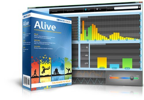 Alive Clinical Biofeedback Software Suite for IOM Finger Sensor by Somatic Vision