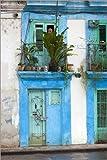 Posterlounge Forex 60 x 90 cm: Hawaiian Facade, Cuba di Walter Bibikow/Danita Delimont