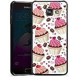 Samsung Galaxy A3 (2016) Housse Étui Protection Coque Tarte Gâteau Café et gâteau