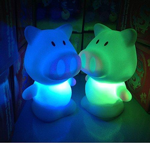 de LED-Nachtlicht 1PC schwein (Schwein Dekorationen)