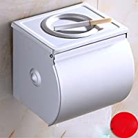 KHSKX-Caja De Papel Higiénico Impermeable Espacio Caja De Pañuelos De Papel De Aluminio Cenicero Baño Completo Impermeable Toalla De Papel Caja Cerrada