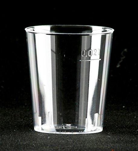 Schägner Einweg Schnapsgläser, 2 cl, glasklar, 1000 Stück