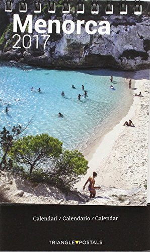 Calendari mini menorca 2017