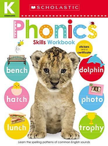 Scholastic Early Learners: Kindergarten Skills Workbook: Phonics (Scholastic Early Learners (Cartwheel - US))
