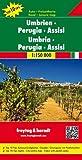 Umbrien - Perugia - Assisi, Autokarte 1:150.000, Top 10 Tips: Toeristische wegenkaart 1:150 000 (freytag & berndt Auto + Freizeitkarten)