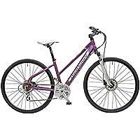 Claud Butler-Explorer 400 Explorer bicicletta, da donna, colore: viola