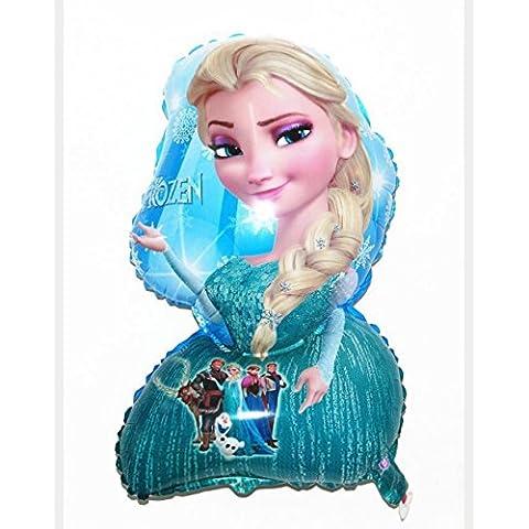 3x gran globo de aire parte cumpleaños de helio de Frozen princesa Reina Elsa solo grande 18