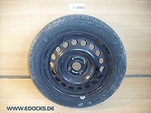 """15 """"été 185-55-r15 pneu jante eT49 6J 4 trous x100 opel"""