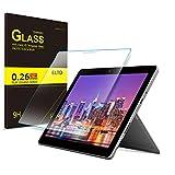 ELTD Microsoft Surface Go Schutzfolie, Rounded Corners 2.5D, 9H Härte, gehärtetes Glas Display Schutzfolie für Microsoft Surface Go 10 Zoll [1 Stück]
