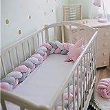 Kuuboo Baby-Nestchen, weich, Bettumrandung, Kopfschutz