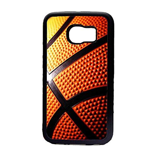 Preisvergleich Produktbild Case Schutz Hülle SILIKON TPU für Samsung iphone BASKETBALL BASKET BALL (SAMSUNG GALAXY S6 EDGE)