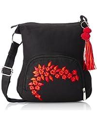 pick pocket Women's Sling Bag (Black) (Slblkremb24)