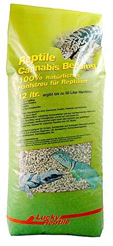 Lucky Reptile RC-12 Cannabis Bedding, 12 Liter, Bodengrund für Terrarien