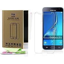 Beste4Handys Pellicola Protettiva in Vetro Temperato 9H Vetro Temperato per Samsung Galaxy J3J320(2016) Pellicola Protettiva in Vetro Vere collegato