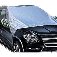 Cobertor total transpirable color plateado marca Big Ant para coche. De hasta 190 pulgadas (482cm), resistente al agua para todos los climas y hecho especialmente para coches Sedán