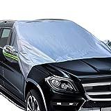 Big Ant Windschutzscheibenabdeckung Frontscheibenabdeckung Autoscheibenabdeckung Winterabdeckung Abdeckplane Auto Anpassend für die meisten Fahrzeugmodelle