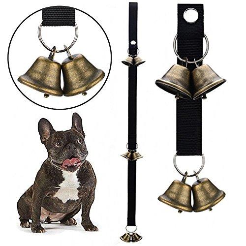 Campaña de Calidad para Formación de Perro en Casa, Timbre a la Puerta Ajustable de Perro Para Entrenamiento del Uso de Baño o Comer